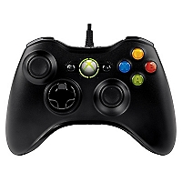 Control Xbox 360 Common Controler Negro