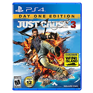 Just Cause 3 Day One Edtion PS4