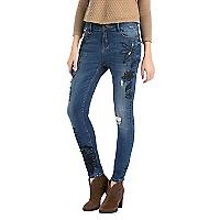 Jeans con Flores