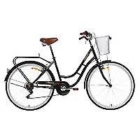 Bicicleta Aro 26 Urban Tourist Negra
