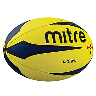 Balón de Rugby Crown Amarillo