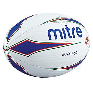 Balón de Rugby Max 460 Blanco