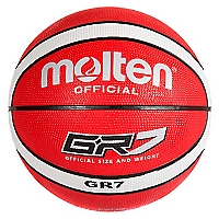 Bal�n de Basketball Bgr7 Rojo