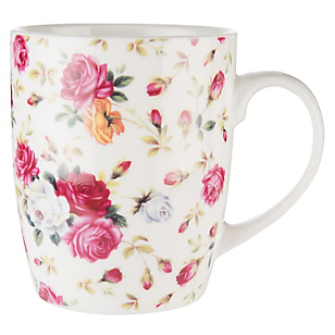 Mug Flores Rositas
