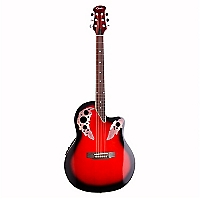 Guitarra Electoac�stica OV RED Rojo