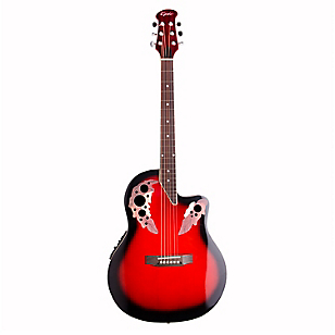 Guitarra Electoacústica OV RED Rojo