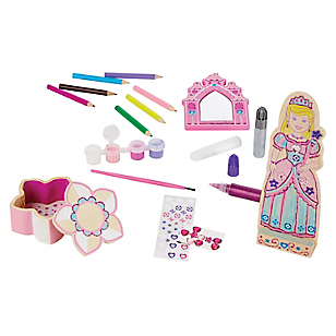 Decora Tu Propio Set de Princesa