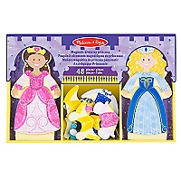 Magnetic Dress Up Set Princess Play