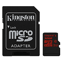 Tarjeta MicroSD 32GB Negro
