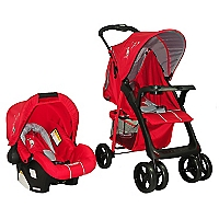 Coche Travel System Jazz 216 Rojo