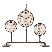 3 Relojes con Base Colección