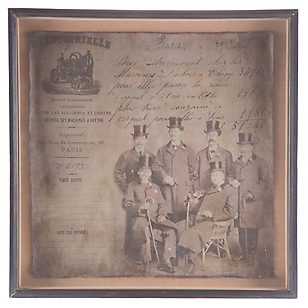 Cuadro Antiguo 1920 lll