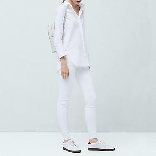Jeans Encerado Skinny Belle