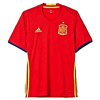 Camiseta Local España UEFA Euro 2016