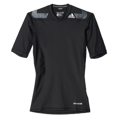 Polera TF Power SS Negra