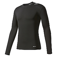 Polera Manga Larga TF Base LS Negra