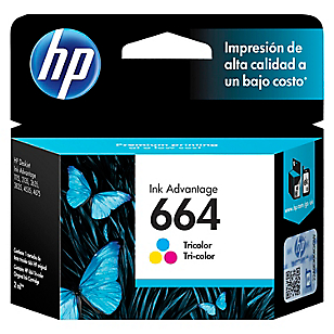 Tinta 664 Tri-Color 2ML Negro