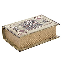 Caja Libro Dise�o Naipes