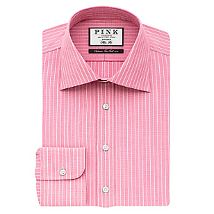 Camisa Regular Fit + Cuello Semi Italiano