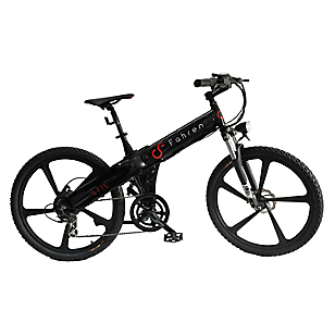 Bicicleta Aro 26 Eléctrica Stil 500 Negra