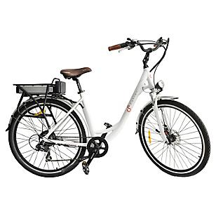 Bicicleta Aro 28 Eléctrica Paseo Fluss Blanca