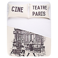 Funda de Plumón Paris Theather 2 Plazas