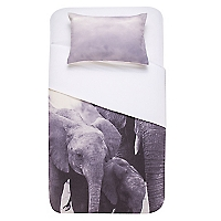 Funda de Plum�n Elephant Family 1.5 Plazas