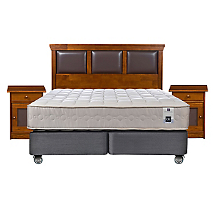 Box Spring Ortopedic King Base Dividida + Muebles