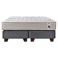 Box Spring Ortopedic 2 Plazas Base Dividida
