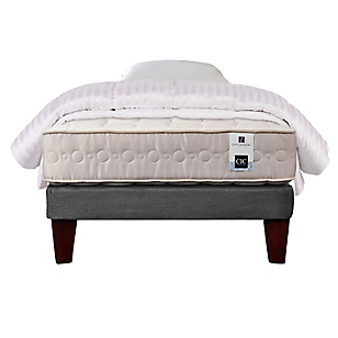 Cama Europea Ortopedic 1,5 Plazas Base Normal + Textil