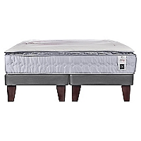 Cama Europea Zen 1 King Base Dividida