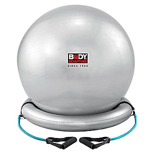 Set Pilates Core Ball Plata