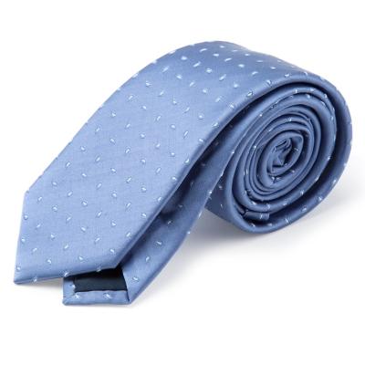 Corbata Seda Puntos 6 cm