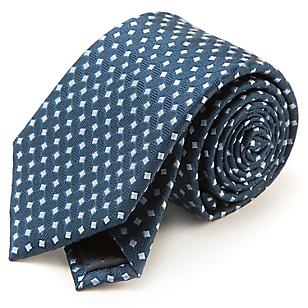 Corbata Seda Cuadros 7,5 cm