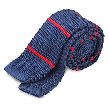 Corbata Tejida Lisa 5,5 cm, Recta