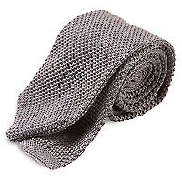 Corbata Tejida Texturado 7 cm, Clásica