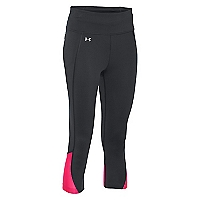 Calza Capri Run Heat Gear Negra Fly By 2.0