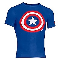 Polera Alter Ego Azul Heat Gear Compresi�n
