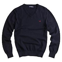 Sweater Liso Cl�sico Cuello V