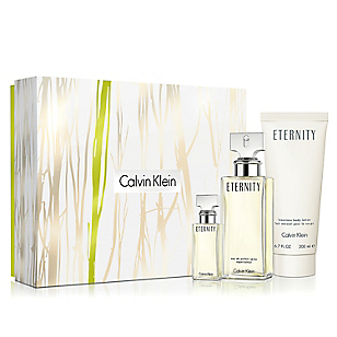 Set Eternity EDP 100 ML + Body Lotion 200 ML+ Miniatura 15 ML