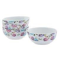 Set 4 Bowls Hortensia
