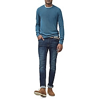 Jeans Jan Slim-Fit Lavado Oscuro