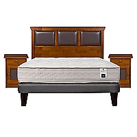 Cama Europea Balance 1 2 Plazas Base Normal + Muebles