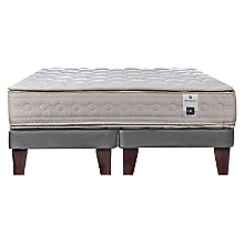 Cama Europea Balance 3 King Base Dividida