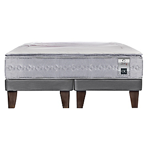 Cama Europea Zen 1 Super King Base Dividida