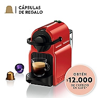 Cafetera Inissia Single Red 0,7 lt