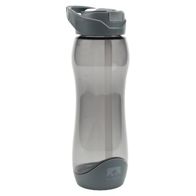 Botella Clear Tritan Flip 750 ml Gris
