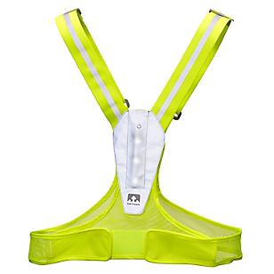 Chaleco Running Led Lightfit Amarillo
