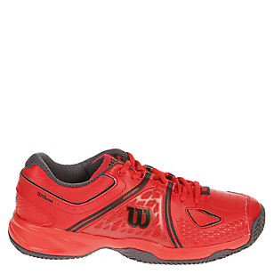 Zapatilla Tenis Hombre Nvision Clay Court Red-Coal W