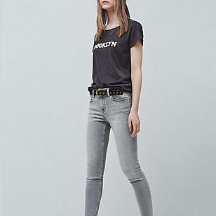 Jeans Skinny Crop Isa